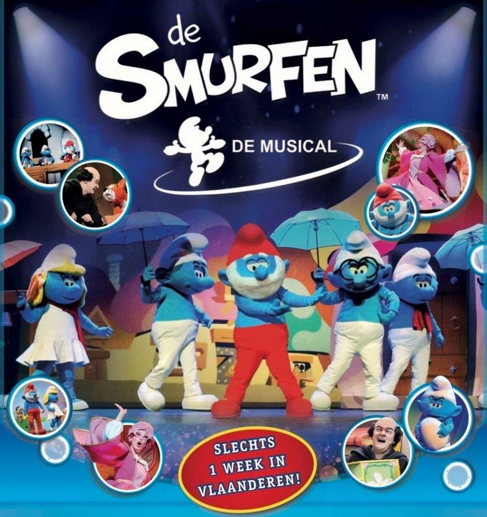 De Smurfen, de Musical' komt eindelijk thuis in maart 2019! - De Smurfen 1