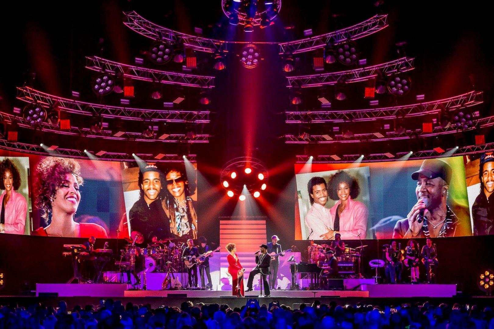 Glennis Grace eert Whitney Houston met groots concert in Lotto Arena Antwerpen - Glenny Grace 2