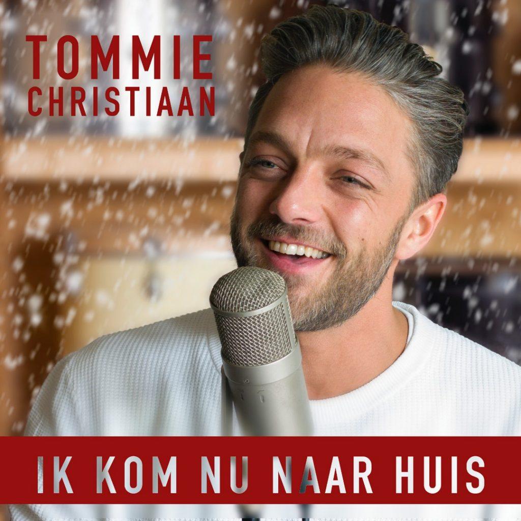 Tommie Christiaan brengt de gezellige kerstsingle 'Ik kom nu naar huis' uit - Hoes Tommie Christiaan