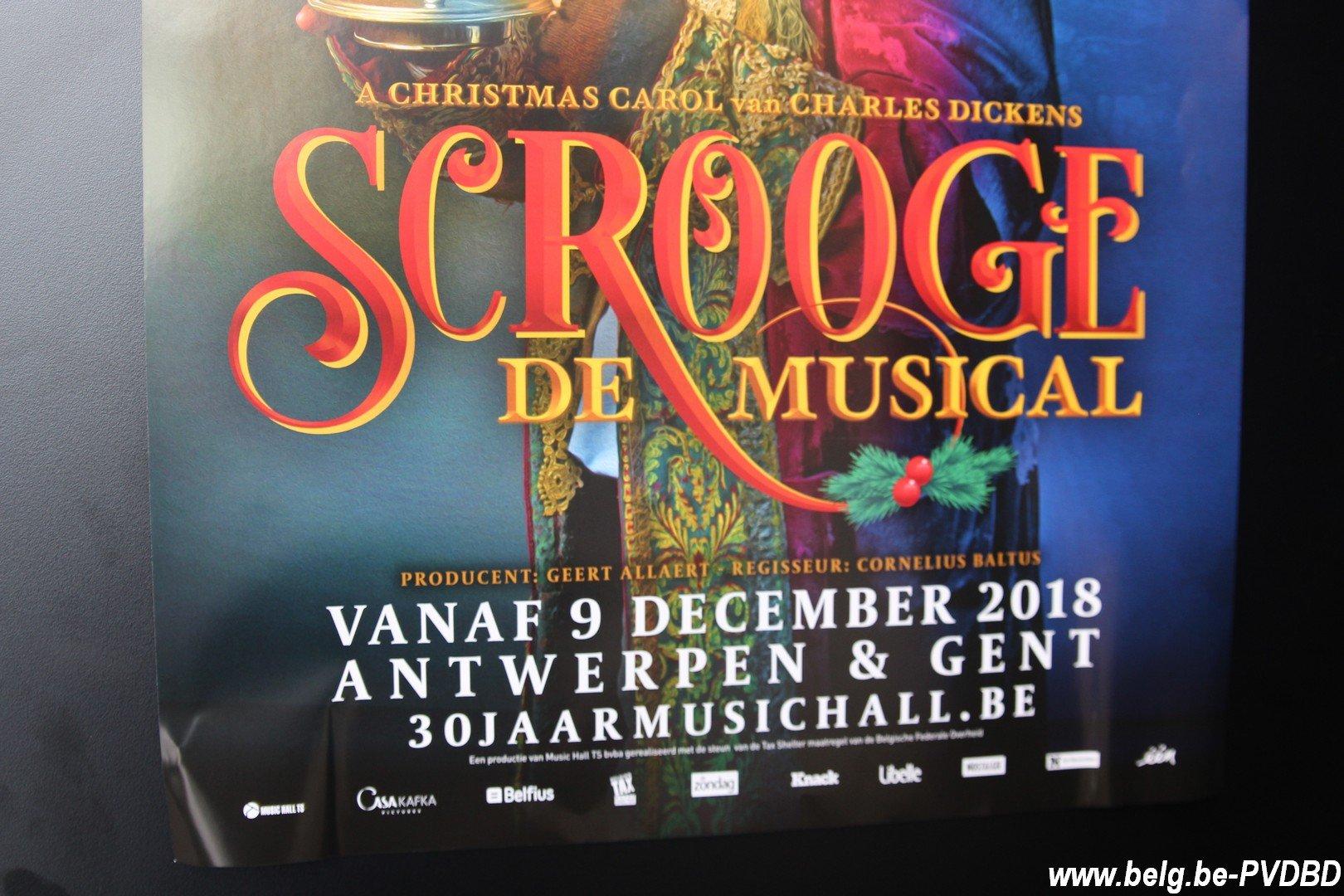 Music Hall voorziet nu al6 extra voorstellingenvan 'Scrooge - IMG 2438