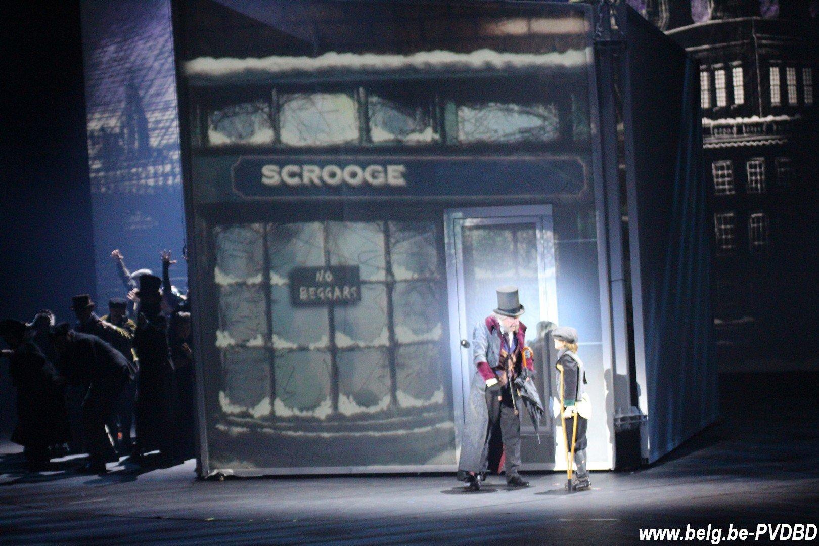 Warre Borgmans herneemt glansrol in 'Scrooge, de Musical' - IMG 3593