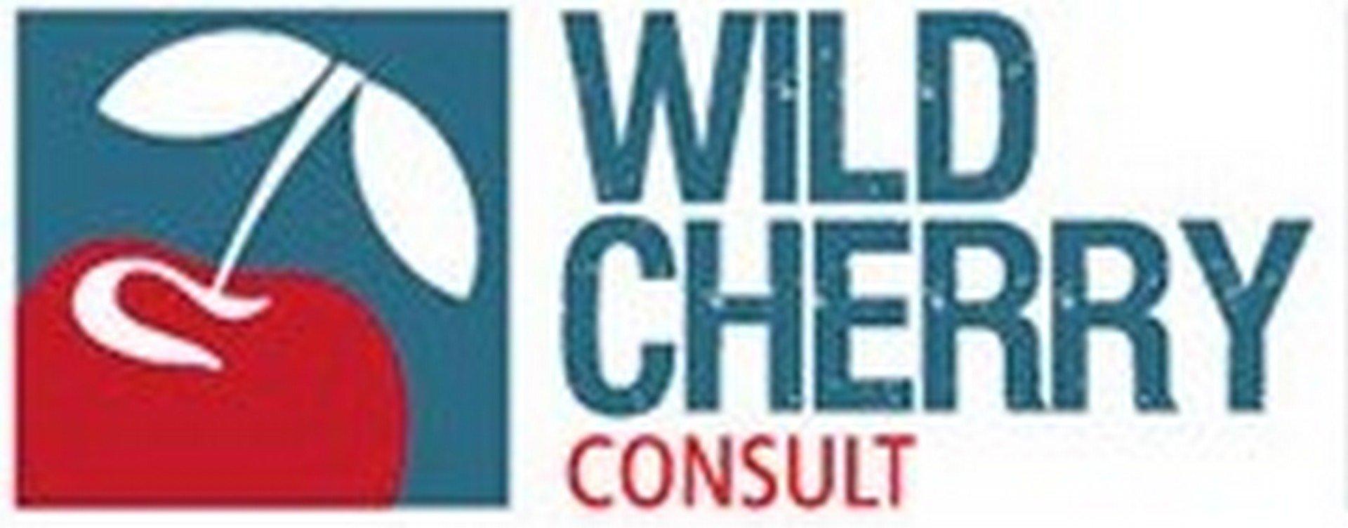 Wim Coryn, viert 10-jarig bestaan van Wild Cherry Consult - Logo Wild Cherry