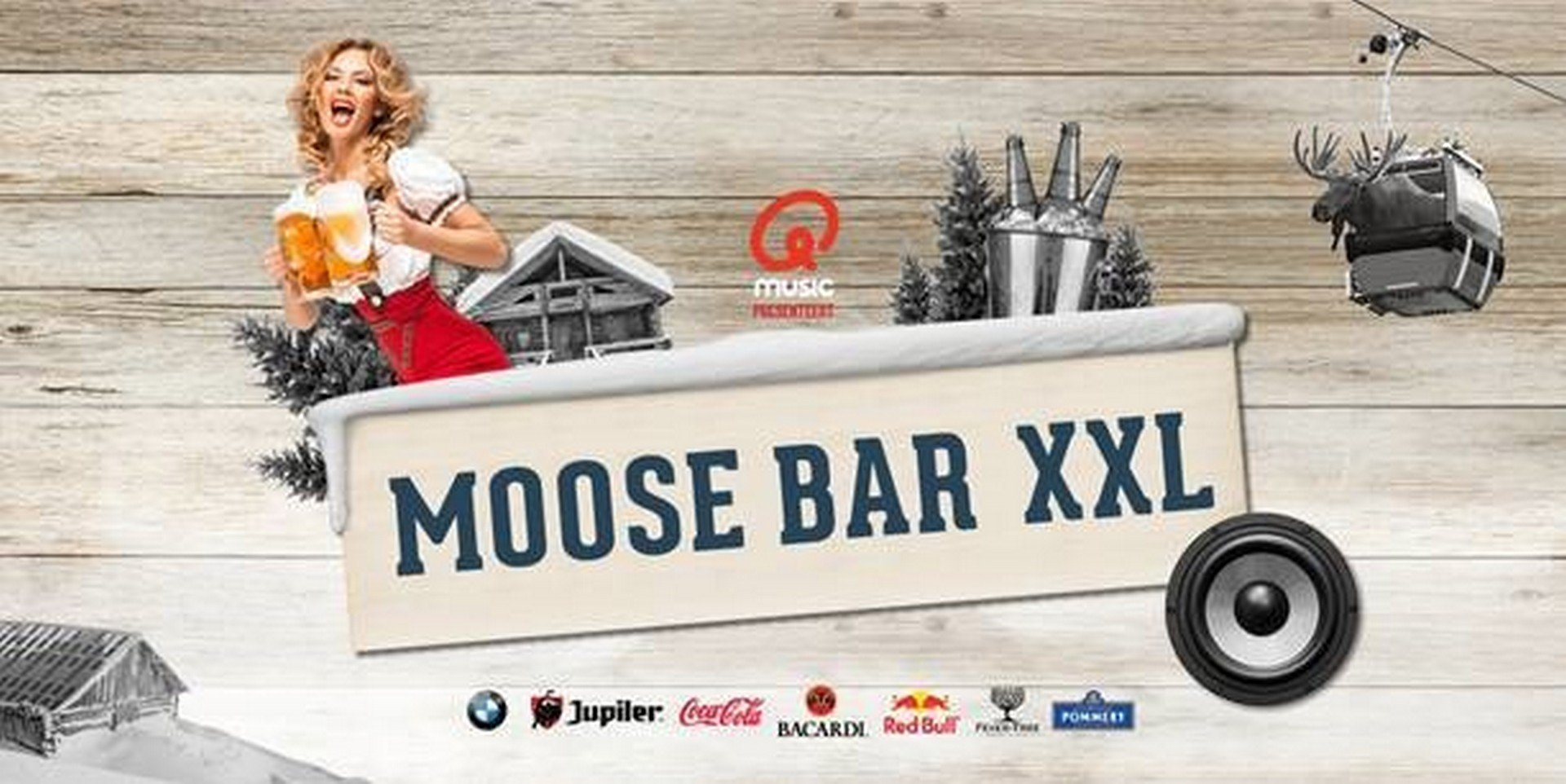 MOOSE Bar brengt Anton aus Tirol naar het Sportpaleis! - Moose Bar XXL 1