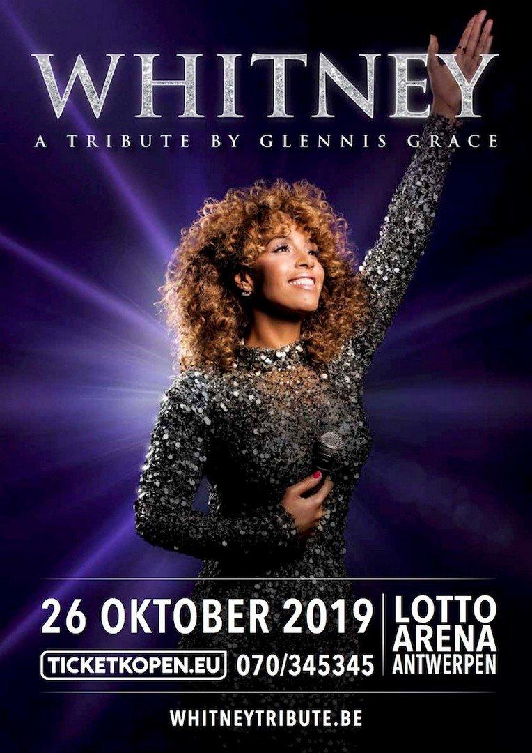 Glennis Grace eert Whitney Houston met groots concert in Lotto Arena Antwerpen - Withney Houston 1