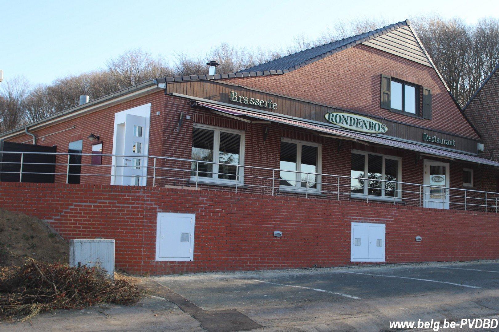 Bodegems restaurant Rondenbos heropent in april - IMG 0319