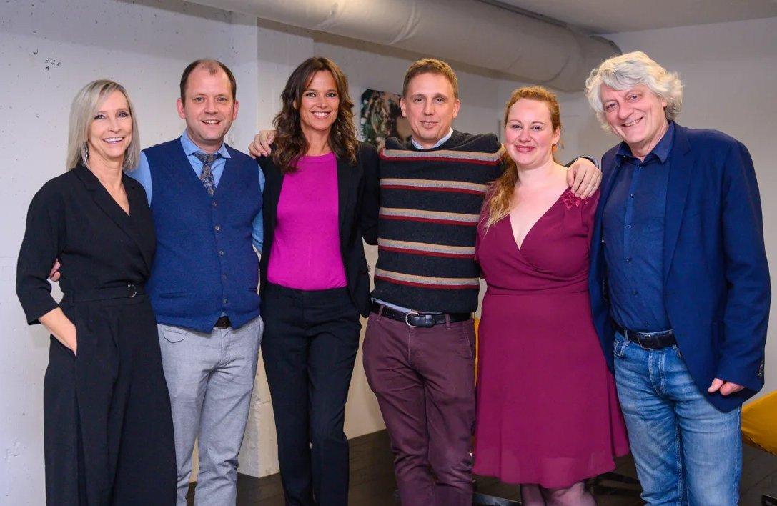 Kelly De Wever, Prof. Dr. Matthias Lannoo, Pascale Naessens, Prof. Dr. Bart Van der Schueren, Evelyn Broeckx, Chris Goossens PronoKal Group
