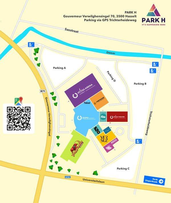 Hasseltse Park H wordt VR-venue The Park - Park H 3