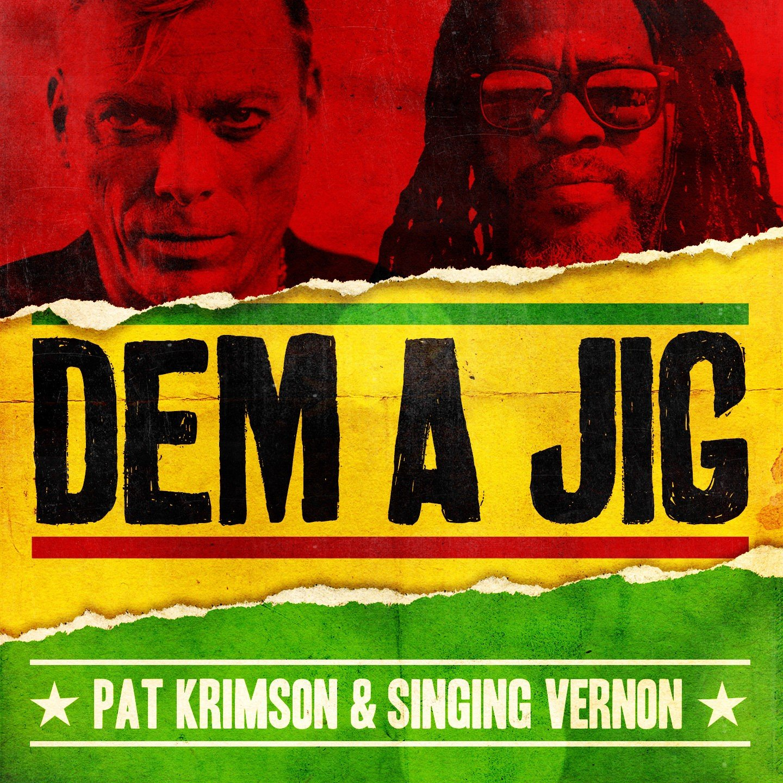 Pat Krimson stunt met Jamaicaanse zanger Singing Vernon - Pat Krimson Dem A Jig 1