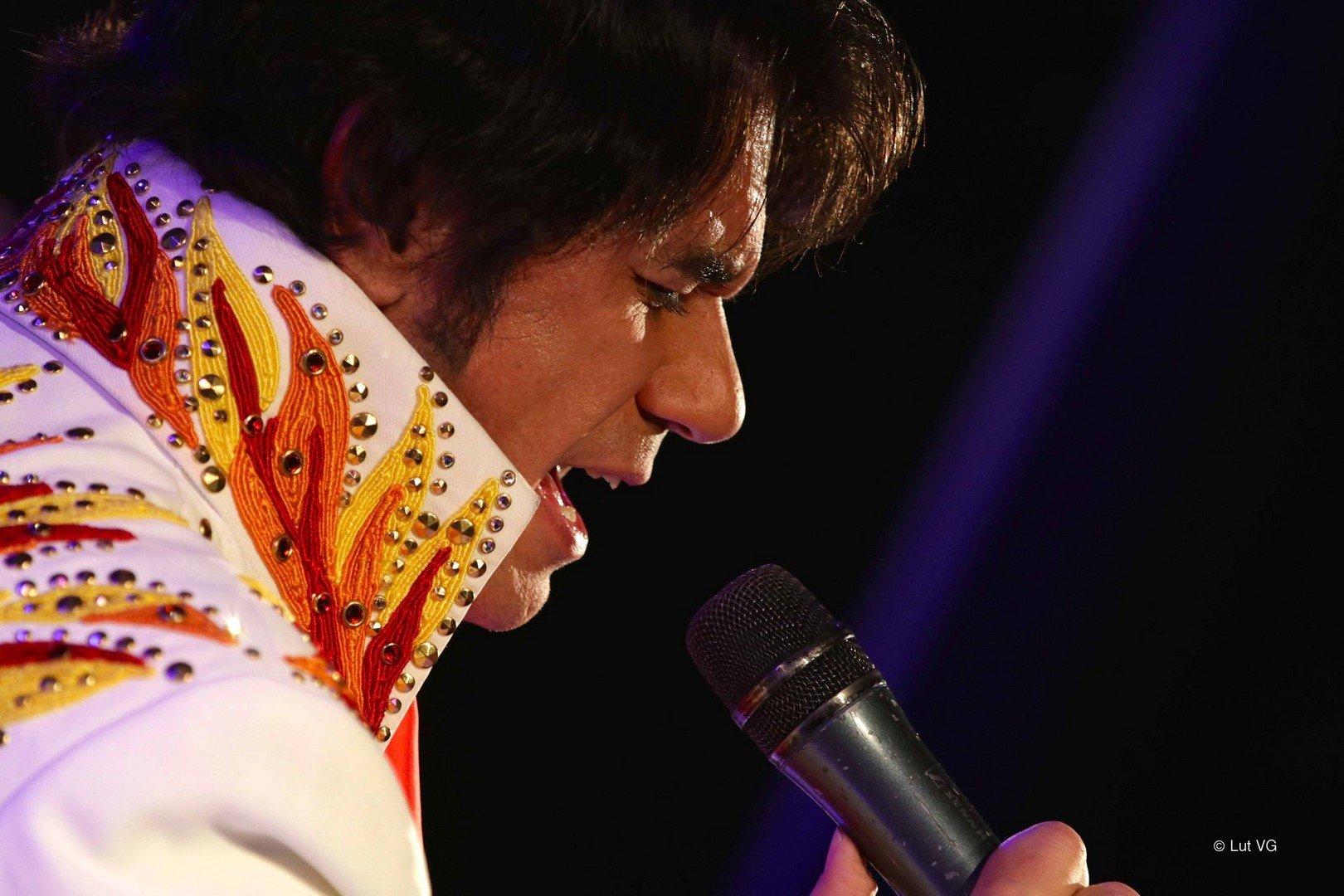 Steve Ryckier viert 50j Elvis in Las Vegas met optreden en Memphisreis - Stev Ryckier 1