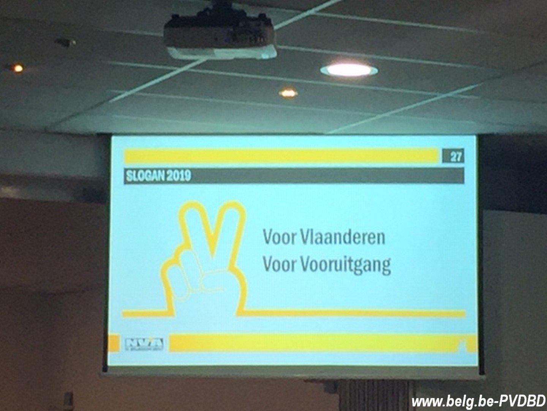 Verkiezingslijsten N-VA door partijraad goedgekeurd - Voor Vlaanderen Voor Vooruitgang