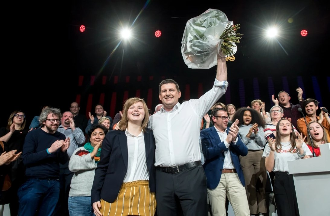Oprichtster 'Students for climate' kiest voor sp.a