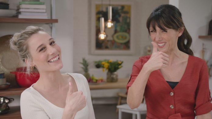Ianthe Tavernier en Sandra Bekkari
