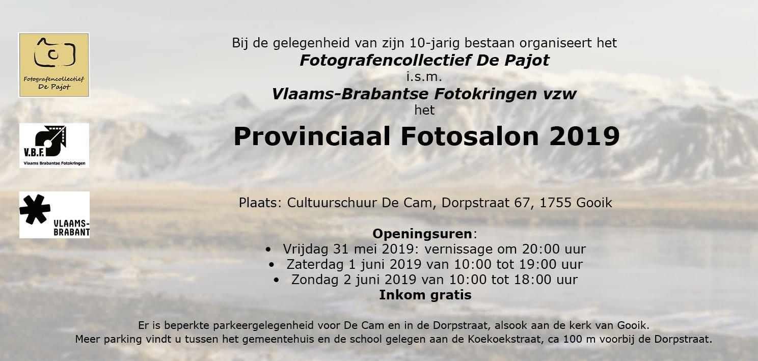 Het Pajottenland in het middelpunt van de fotografie - Uitnodiging VBF 2019