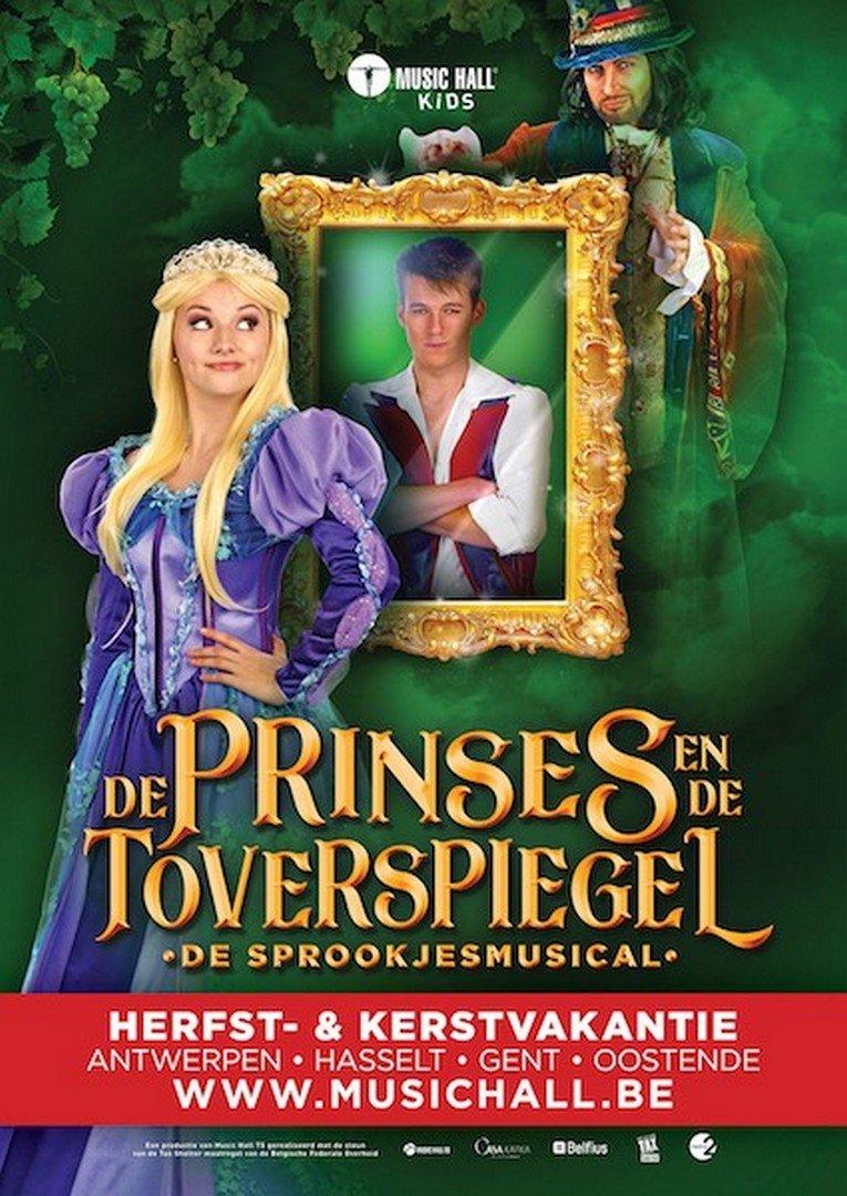 Hoofdcast gloednieuwe sprookjesmusical bekend! - Affiche de prinses en de toverspiegel