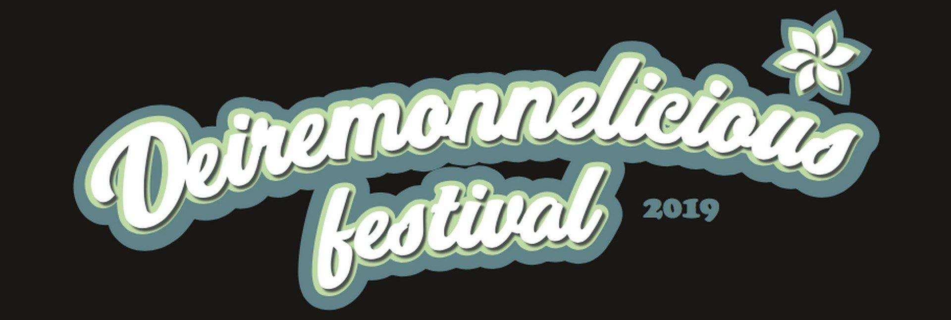 Eerste editie van 'Deiremonnelicious Festival'! - Logo Dendermonds stadsfestival