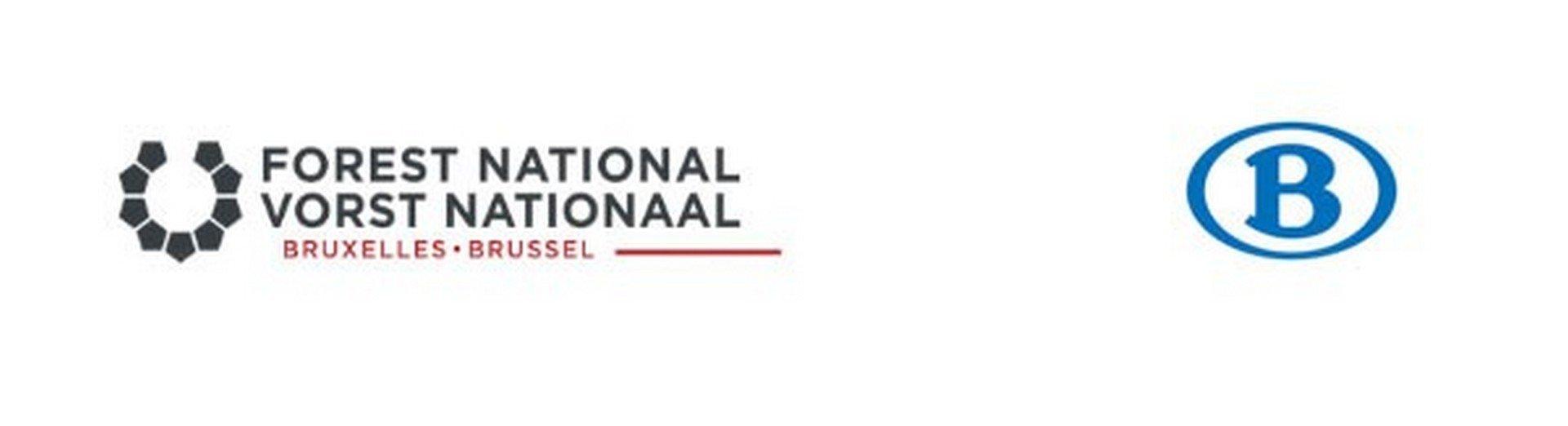 VORST NATIONAAL EN NMBS LANCEREN BRAVO! TICKET - Logo Vorst Nationaal