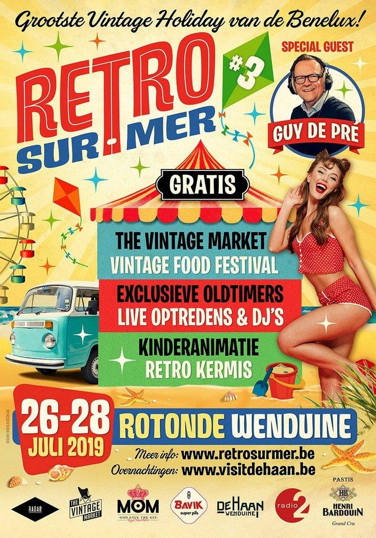 Wenduine is klaar voor 3de Retro Sur Mer - Retro sur mer 5 1