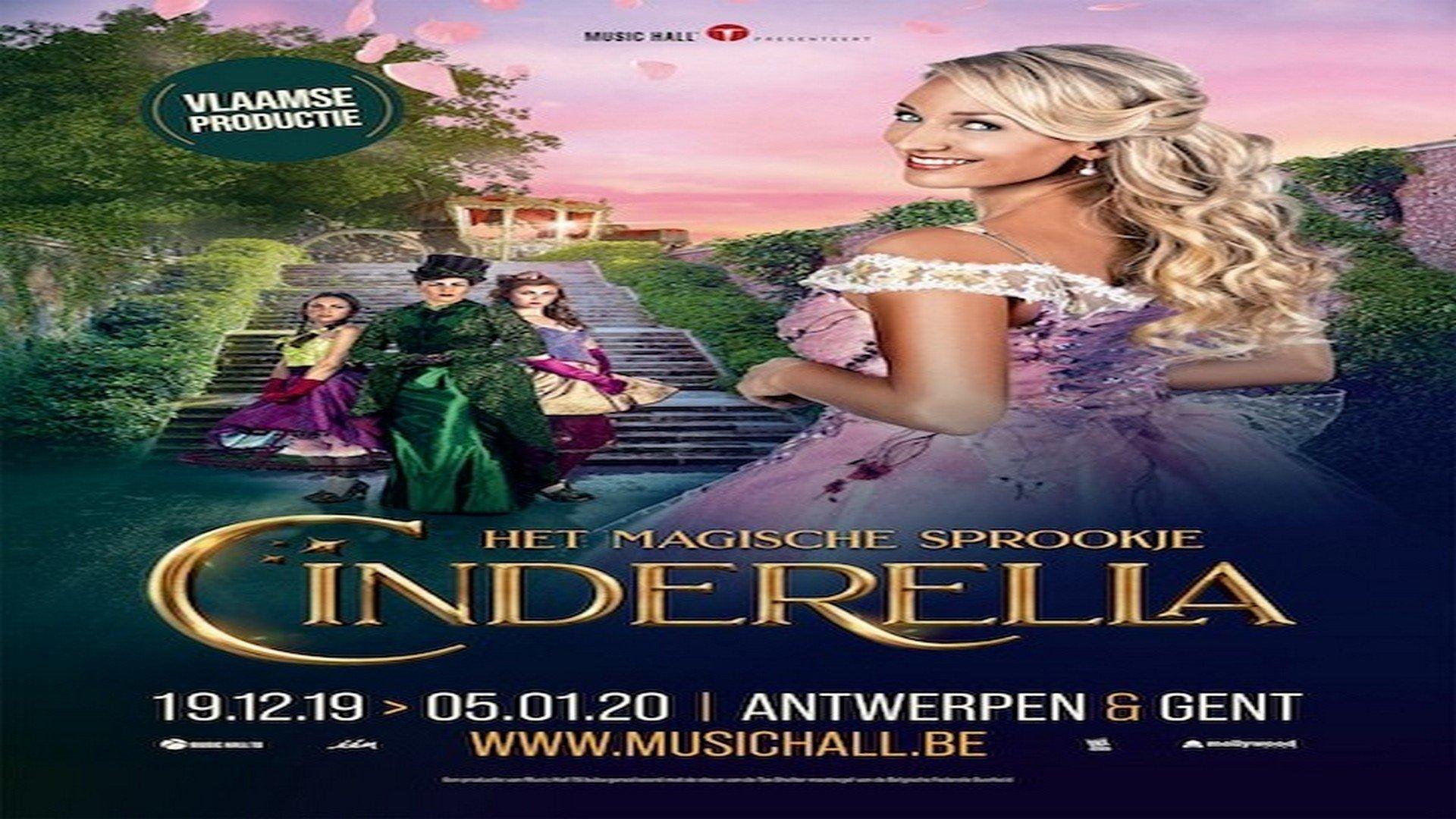 Music Hall presenteert magisch sprookje 'Cinderella' - Affiche Cinderella