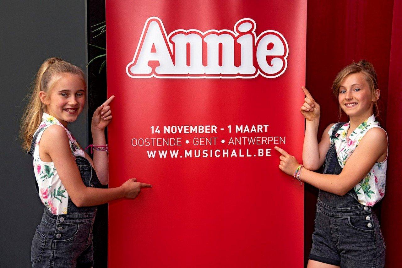 Kindercast 'Annie, de Musical' bekend! - Annie Josefien Derijcke Chaya Van Mol