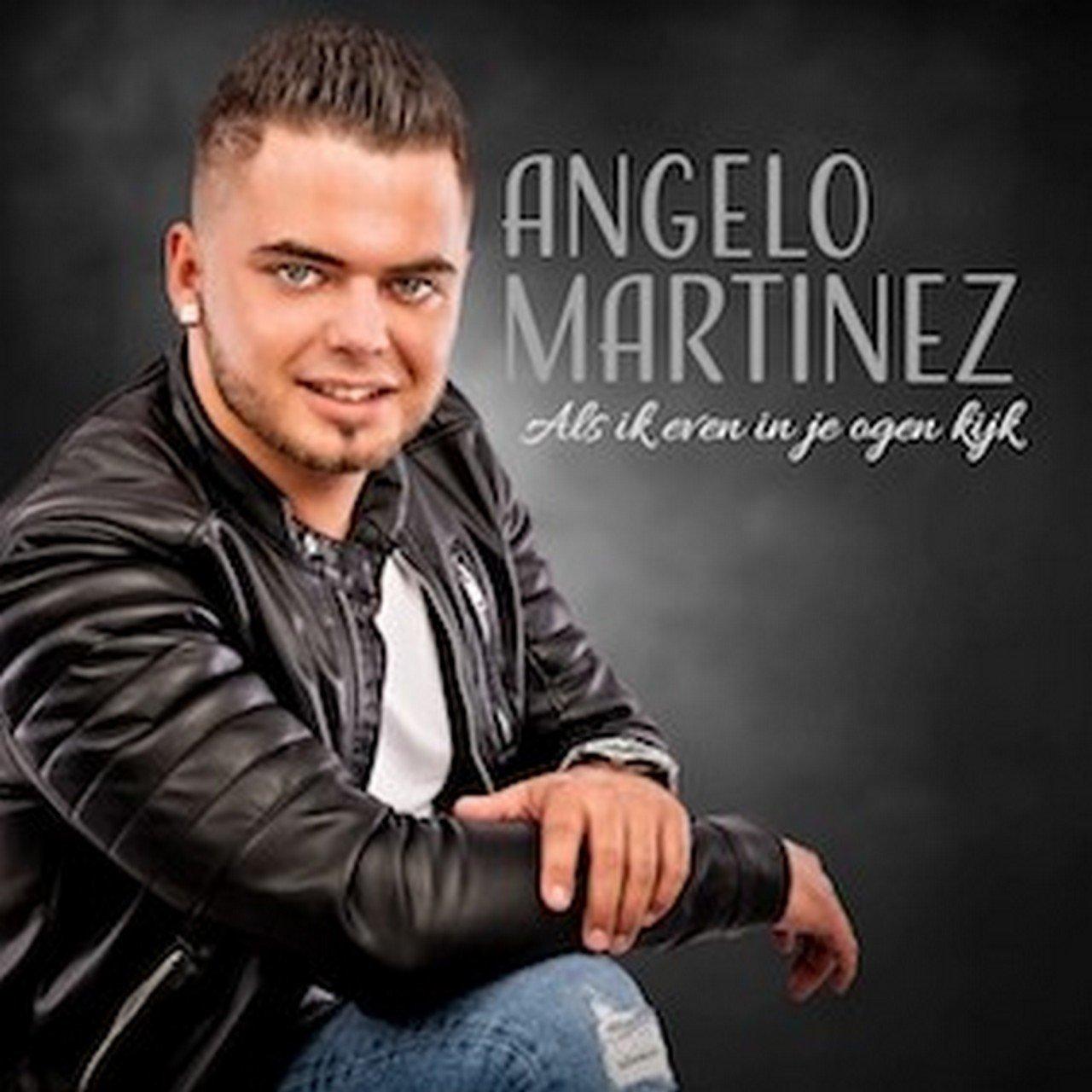 Angelo Martinez lanceert debuutsingle 'Als ik even in je ogen kijk' - Hoes Angelo Martinez als ik in je ogen kijk