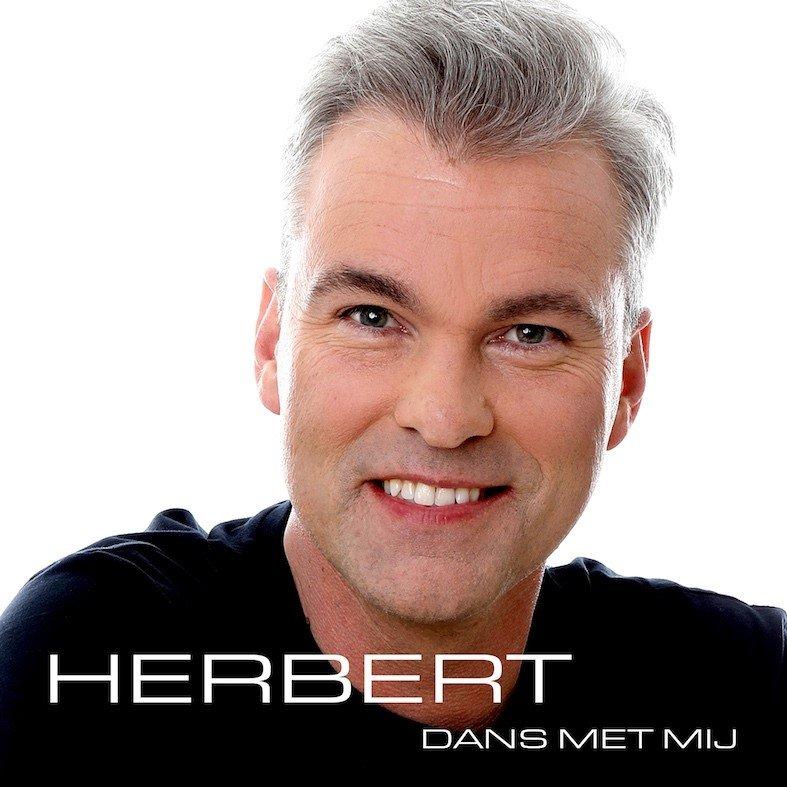 Herbert zuigt iedereen naar de dansvloer - Hoes Herbert Dans met mij
