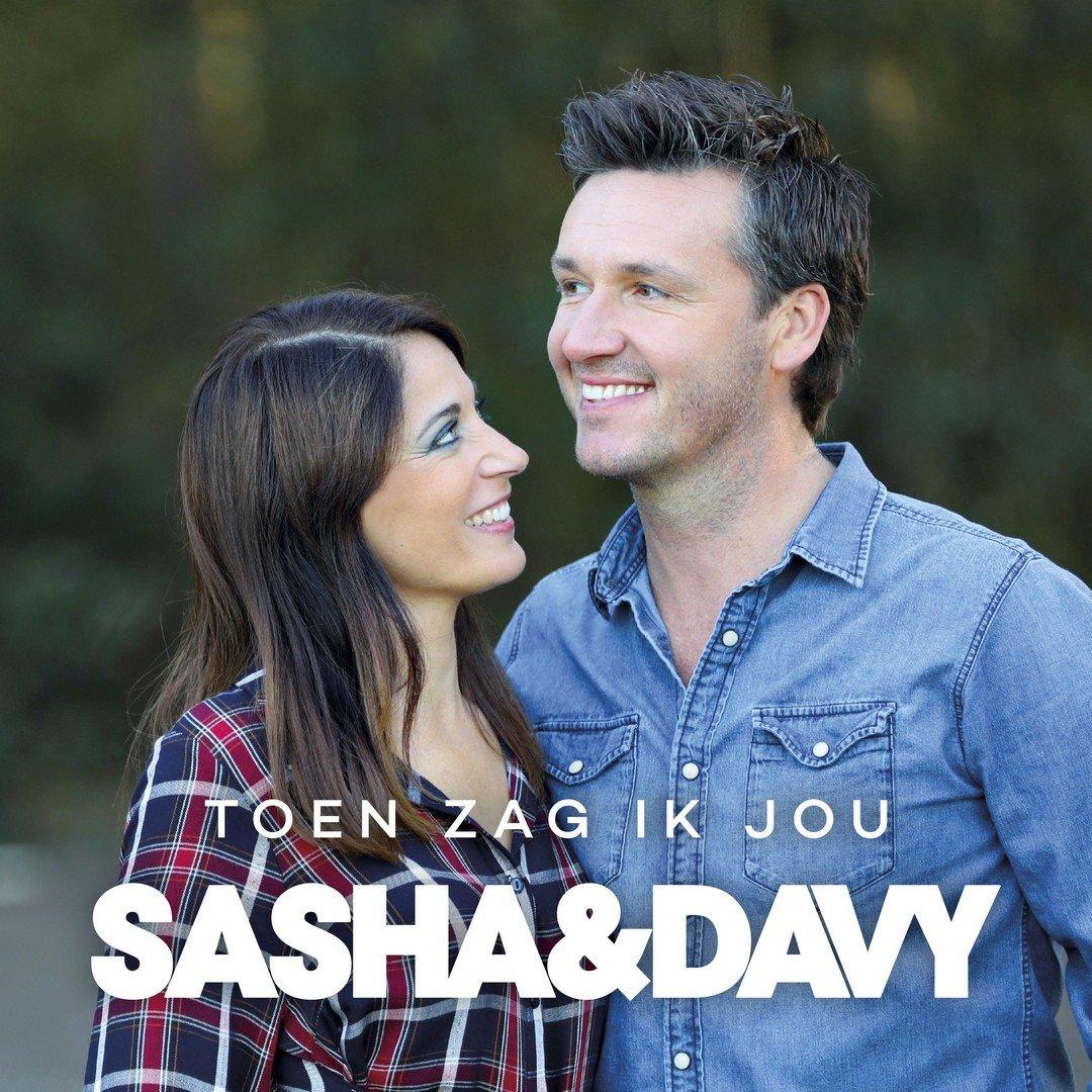 """Sasha & Davy: """"Toen zag ik jou' is een perfect radioliedje!"""" - Hoes Sasha Davy toen zag ik jou"""