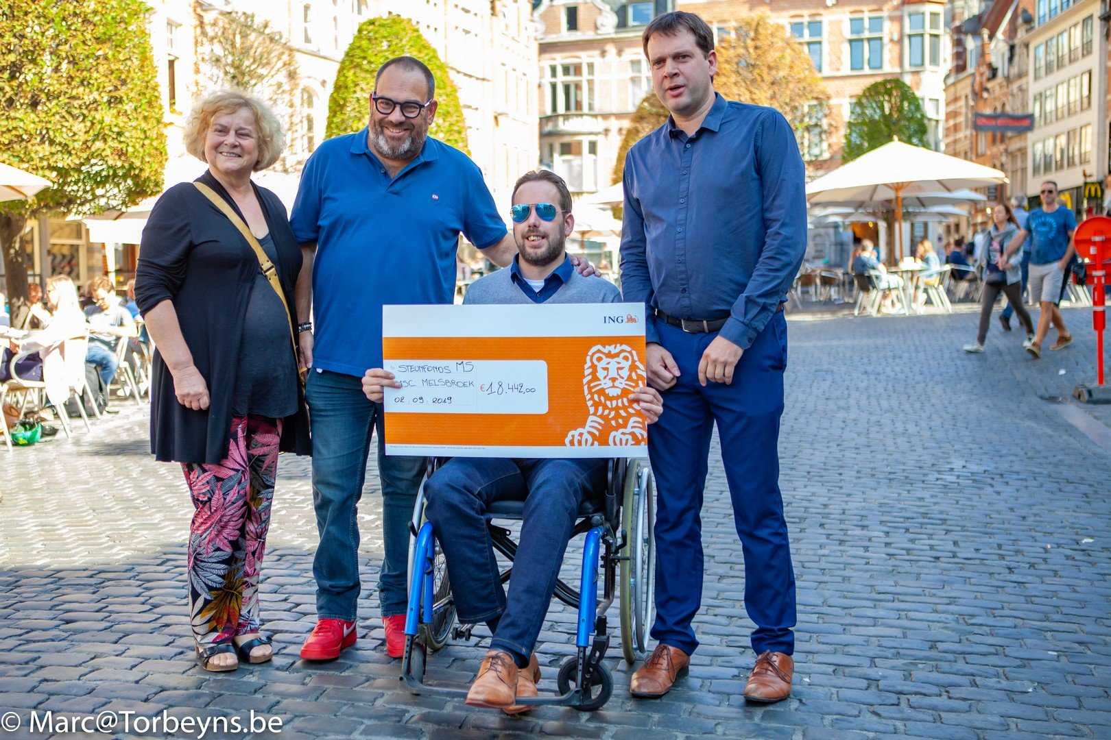 3de 'Leive Vloms' haalde meer dan 18.000 euro op voor strijd tegen MS. - Leive Vloms opgehaald bedrag 2019