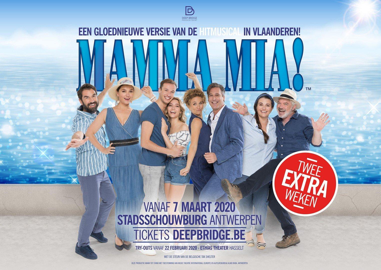 Govert Deploige vervangt Jeroen Van Dyck in MAMMA MIA! - Mamma Mia