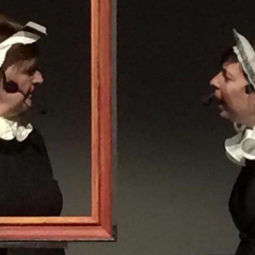 Mayken en Mayken, kijken naar Bruegel - Mayken en mayken