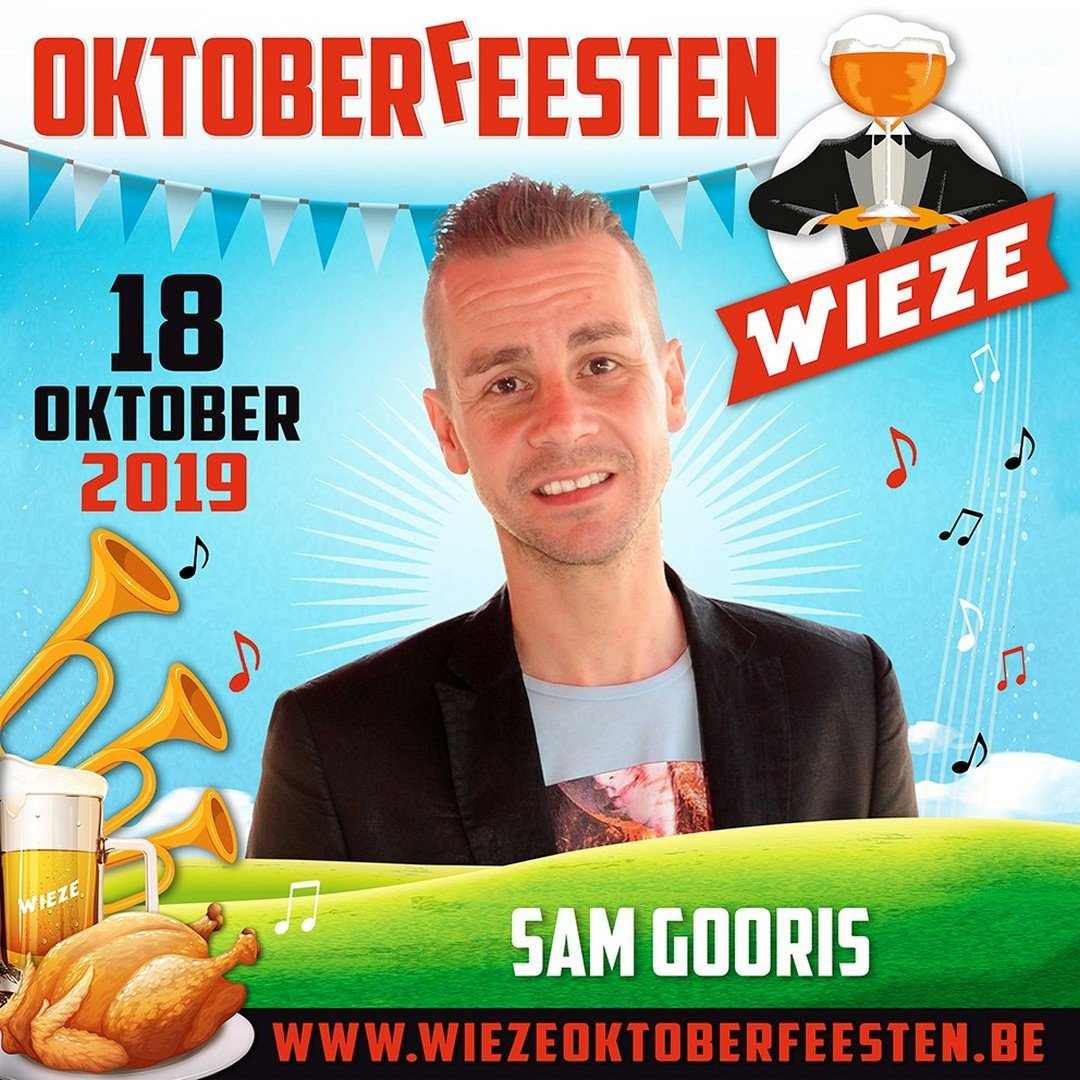 Sam Gooris op Wieze Oktoberfeesten - Sam Gooris Wieze