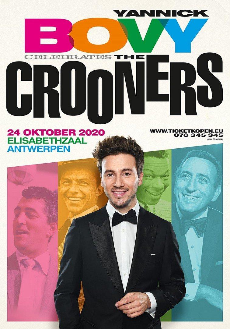 Yannick Bovy viert 'The Crooners' in Elisabethzaal Antwerpen - Affiche Yannick Bovy Crooners