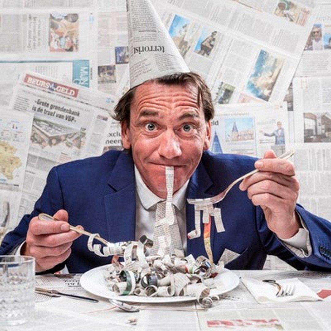 Comedian Bert Gabriëls verrast met zijn boeken top 10 - Bert Gabriëls eindejaarsshow 1