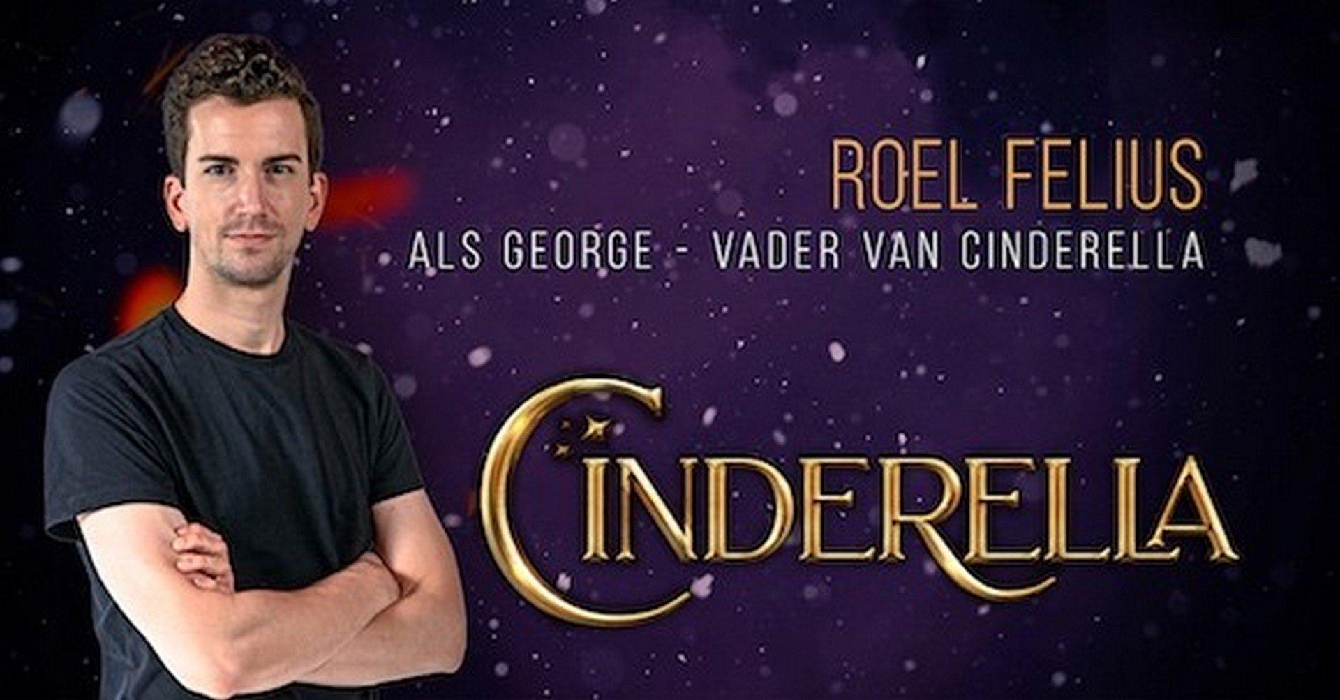 Pieter Casteleyn (Prins) en Roel Felius (vader Cinderella) vervolledigen hoofdcast 'Cinderella' - Cinderella 3