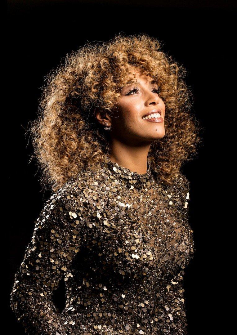 Glennis Grace brengt Whitney-tribute - Glennis Grace 1