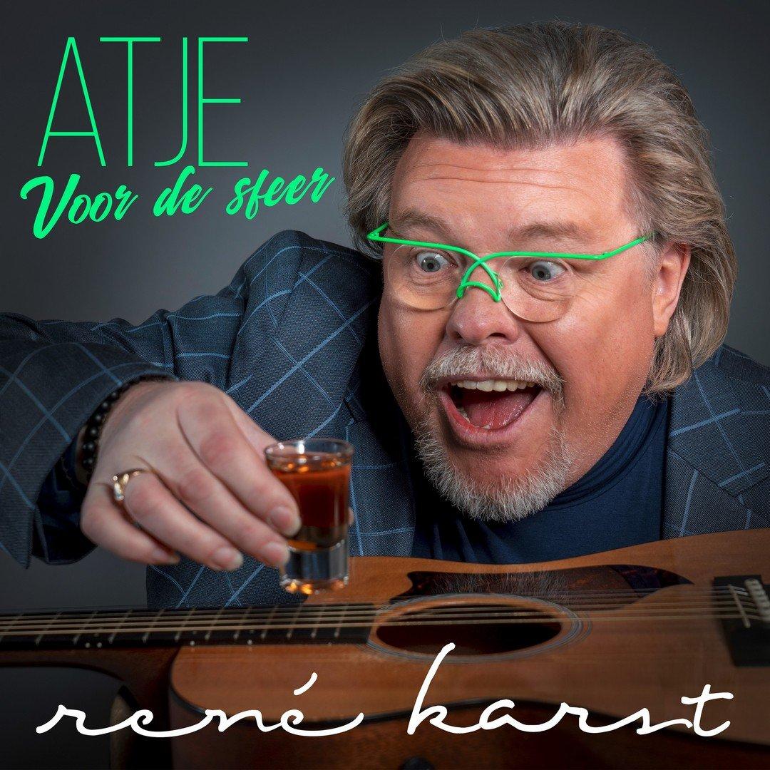 René Karst pakt met het studentikoze 'Atje voor de sfeer' Vlaanderen in! - Hoe René Karst Atje Voor De Sfeer