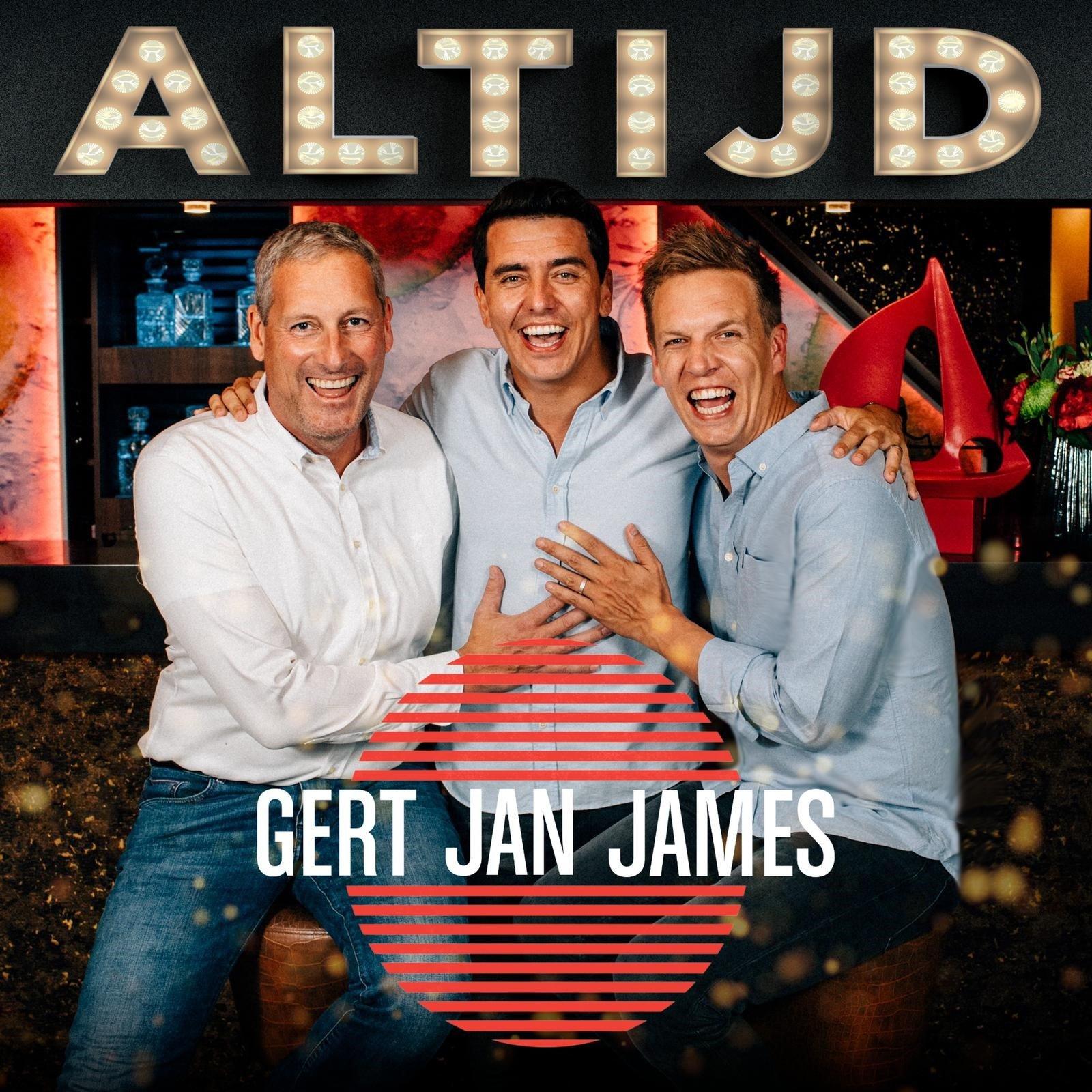 Gert, Jan en James scoren nummer 1 in de iTunes-lijst! - Hoes Gert James en Jan Altijd