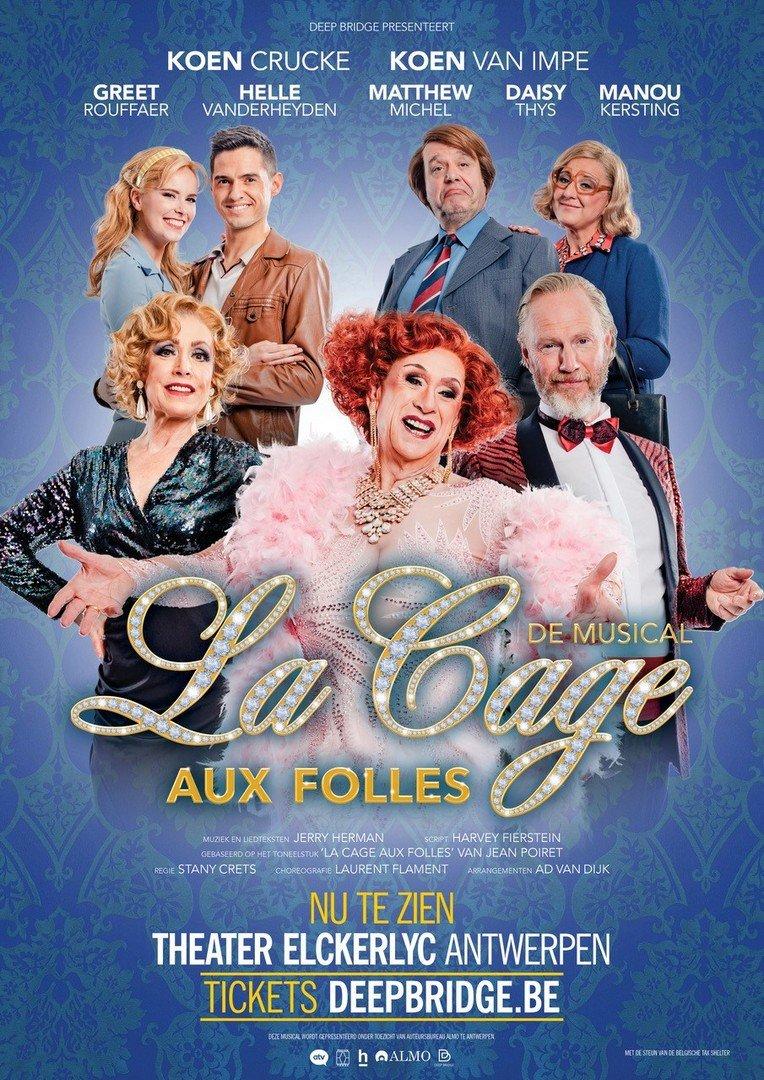 Extra speeldata én inleidend gesprek voor 'La Cage Aux Folles' - La Cage aux Folles 2
