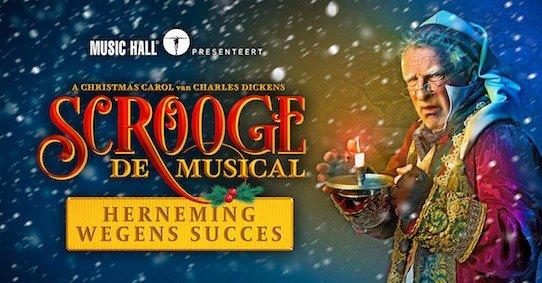 Warre Borgmans herneemt glansrol in 'Scrooge, de Musical' - Scrooge herneming 1