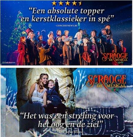 Warre Borgmans herneemt glansrol in 'Scrooge, de Musical' - Scrooge herneming 3