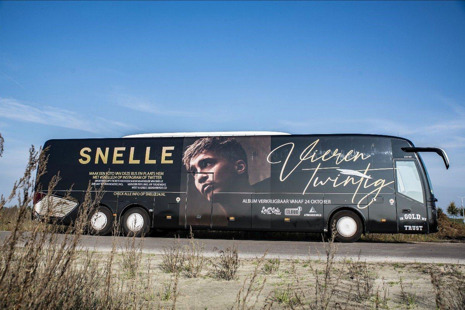 Wie spot Snelle z'n bus vandaag in Antwerpen, Hasselt of Leuven en wint toffe prijzen? - bus Snelle
