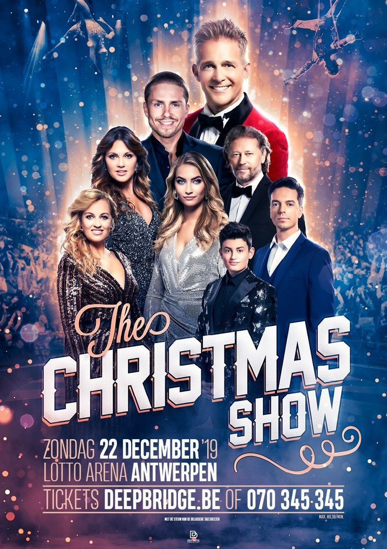 2de show in Lotto Arena voor The Christmas Show! - Affiche The Christmas Show 2019