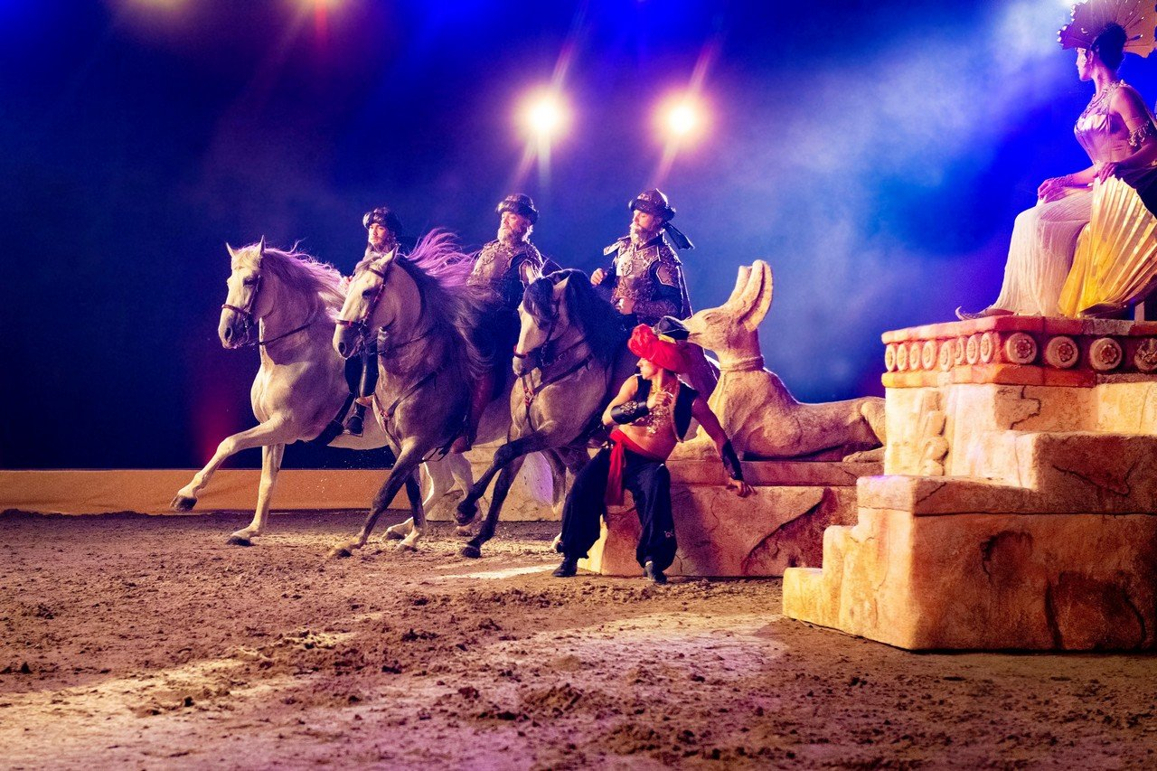 CAVALLUNA komt volgend jaar terug naar het Sportpaleis - Cavalluna Legend of the desert 2