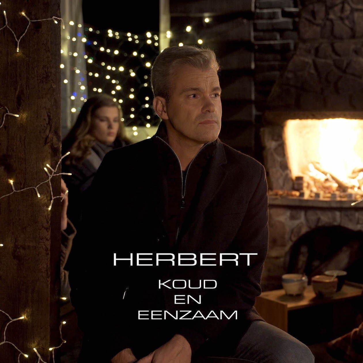Herbert nieuwe kerstsingle 'Koud en eenzaam' - Hoes Herbert Koud en eenzaam