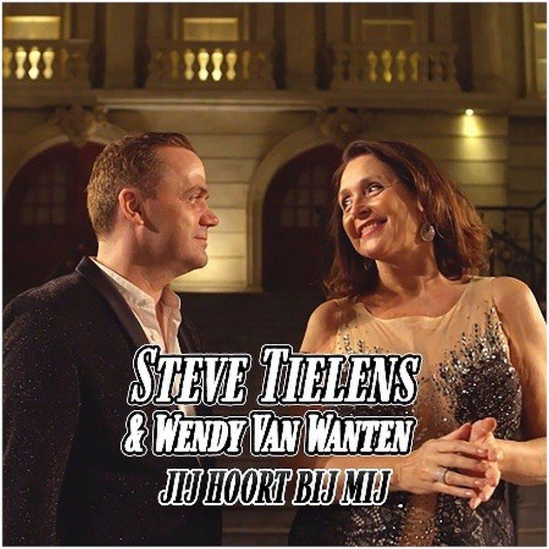 Steve Tielens verleidt Wendy Van Wanten... - Hoes Steve Tielens W.V.Wanten jij hoort bij mij