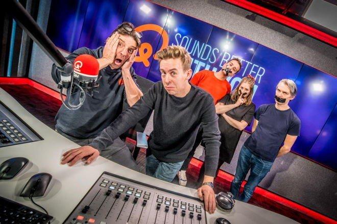 Koen Wauters en Jonas Van Geel beleven vuurdoop - Koen en Jonas als Q Music Presentators
