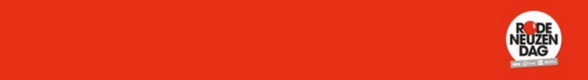 Kleurt Vlaanderen helemaal rood - Logo Rode Neuzen Dag
