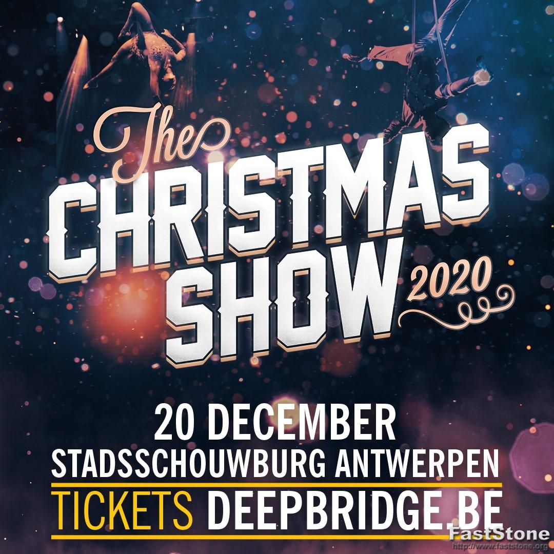 2de Christmas Show was een voltreffer - Affiche The Christmasshow 2020