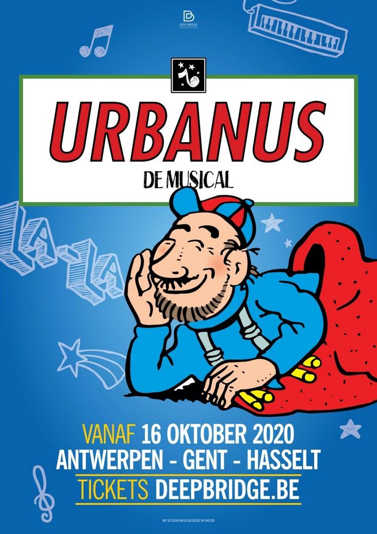 Cast Musical Urbanus is compleet - Affiche Urbanus De Musical