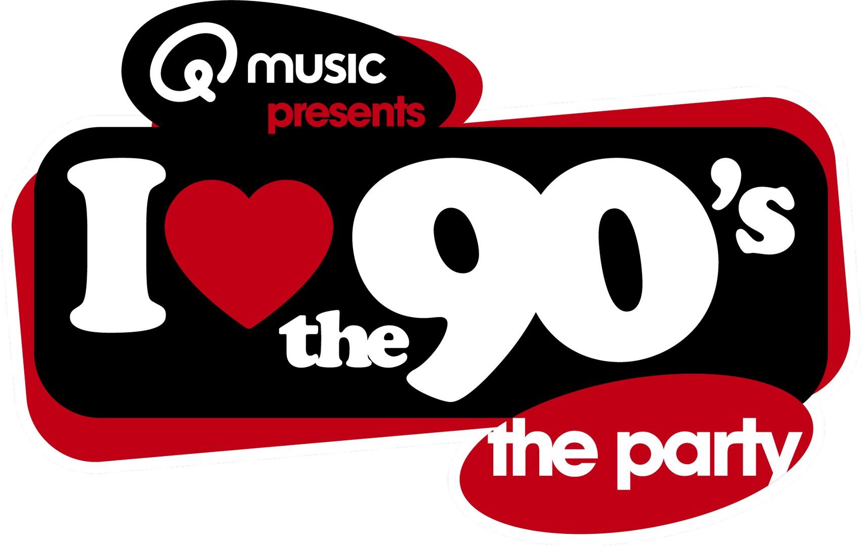 Met Vanilla Ice (Ice Ice Baby) en D-Devils is I love the 90's compleet - Logo I Love The 90s 2020