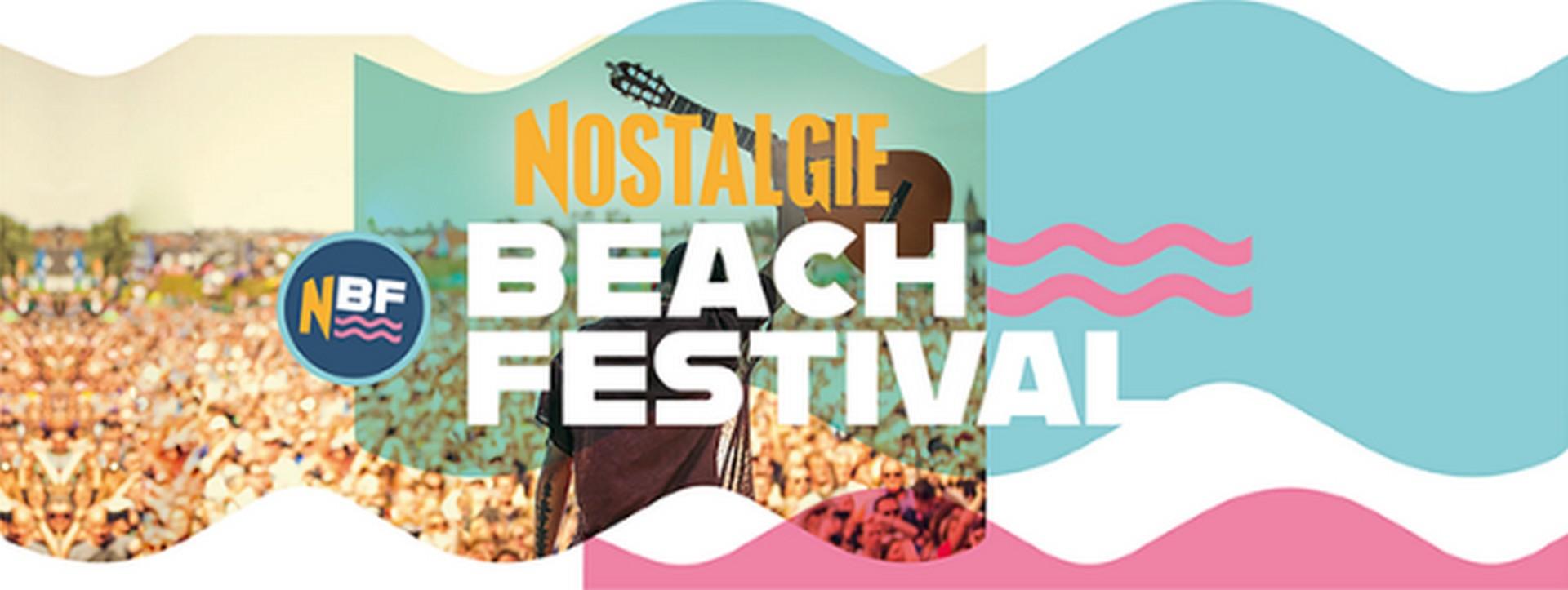 Nieuwe namen voor het Nostalgie Beach Festival - Logo Nostalgie Beach Festival